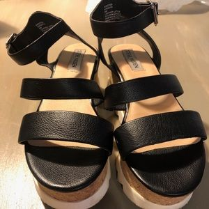 Steve Madden Kristen Wedge Sandals